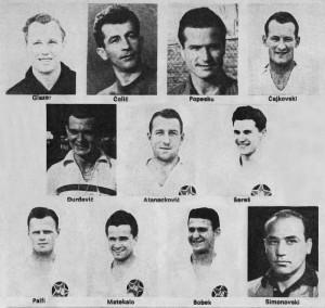 Jedan od prvih sastava posleratnog Partizana