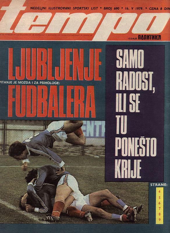 Ljubljenje fudbalera - radost ili se tu ponešto krije