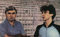 Pobednički tandem: trener Petrović i Dragan Zdravković