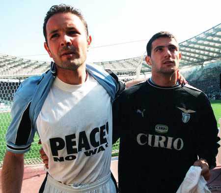 Siniša Mihajlović i Dejan Stanković 1999. godine