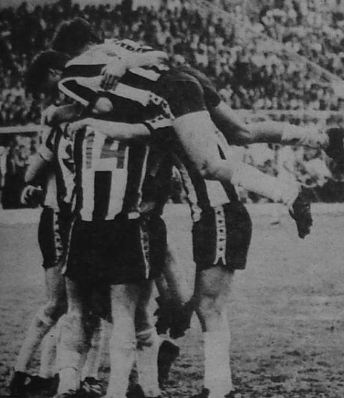 Radost fudbalera Partizana zbog osiguranog opstanka u ligi