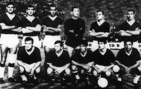 Ekipa zagrebačkog Dinama u sezoni 1962/63