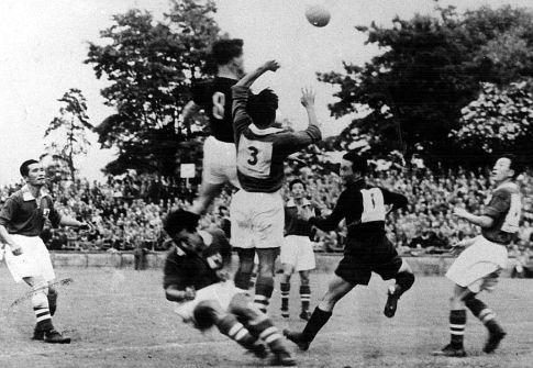 Detalj sa utakmice Mađarska - Južna Koreja 9:0 (FOTO: Popperfoto/Getty Images)