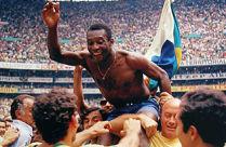 Pele se oprostio od nacionalnog dresa Brazila u susretu sa Jugoslavijom