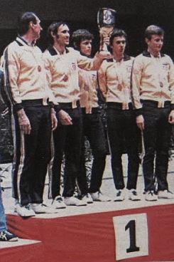 Stonoteniseri Jugoslavije, šampioni Evrope 1976. godine